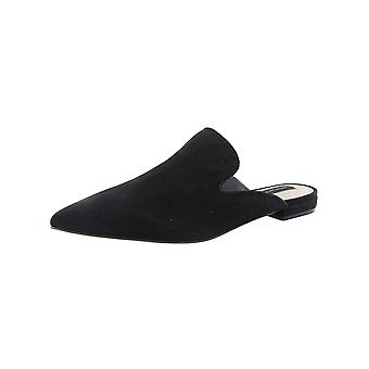 Steven by Steve Madden Womens Velma Suede Pointed Toe Mules