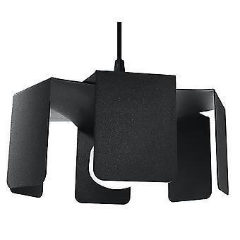 Sollux TULIP SL.0667 Moderne Hanglamp Zwart E27
