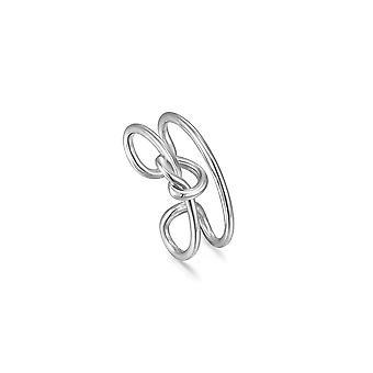 أنيا هاي فضة عقدة الأذن الكفة E029-03H