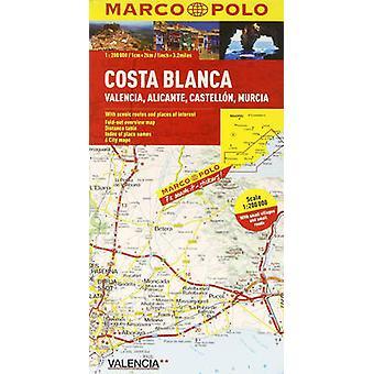 كوستا بلانكا ماركو بولو خريطة طريق ماركو بولو