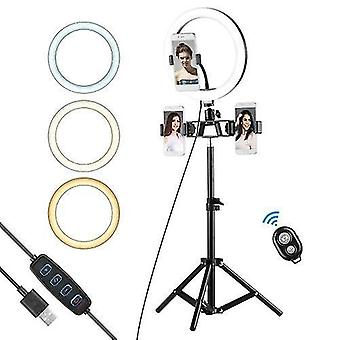 10 Inch Ring Light Selfie Beauty LED Light USB Photography Light