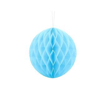 20cm Light Blue Tissue Paper Honeycomb Ball Wedding Party Decoration