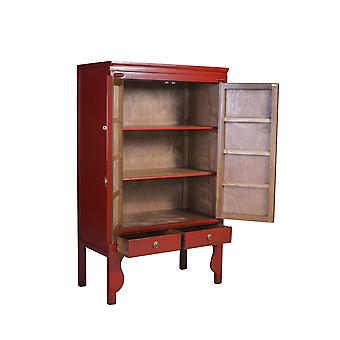 Fine Asianliving kinesiske bryllup kabinet Ruby Red - Orientique Collection W100xD55xH175cm