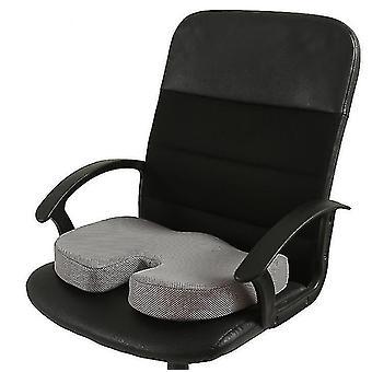 الذاكرة رغوة مقعد وسادة لمقاعد السيارات، وزارة الداخلية & وسادة السفر (رمادي)