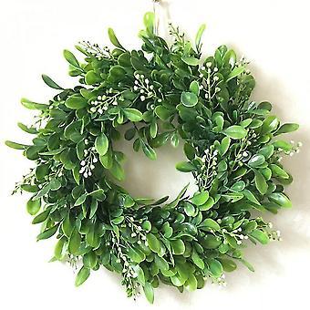 11.8 Inch Diameter Artificial Wreath Decoration
