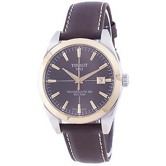 Tissot Gentleman Powermatic 80 Silicium Automatic T927.407.46.291.01 T9274074629101 Men's Watch