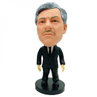 Doll action figure accessories 2.55 6.5cm soccer dolls coaches ancelotti figures