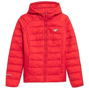4F KUDP009 H4Z21KUDP009CZERWONY vestes universelles toute l'année pour femmes
