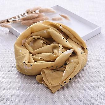 Cute's Cotton Linen Baby Scarf