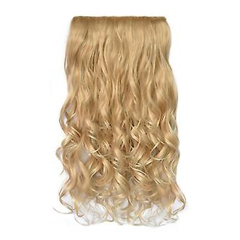 Women Ombre Wavy Curly Wig Hair Extensions Long Wigs Cosplay