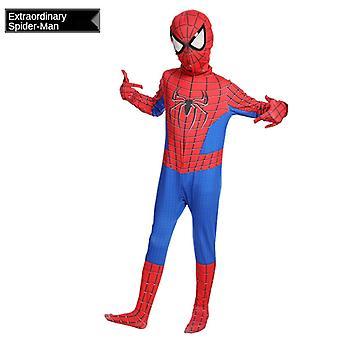 Pentru copii Masculin Cos Spiderman Tight-montarea one-piece Dress Up Suit Superman Performance Suit