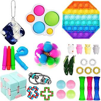 Vent Decompression Toy Set Combination Adult Children Diy Combination Set Toy