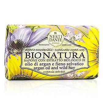 Mydło roślinne zrównoważonego Bio Natura Nesti Dante - olej arganowy & Wild Hay - 250g / 8,8 oz