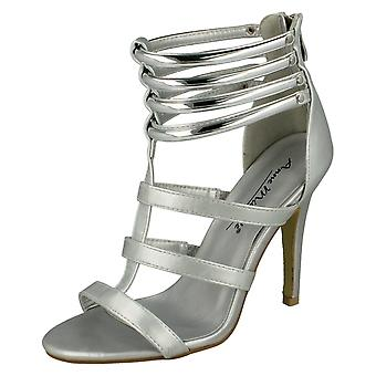 Ladies Anne Michelle Open Toe Heeled Sandals