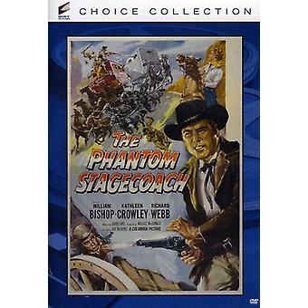 Fantôme Stagecoach (1956) [DVD] USA import