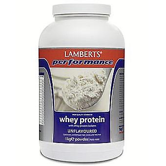 Lamberts Unflavoured Whey Protein, 1000g Powder