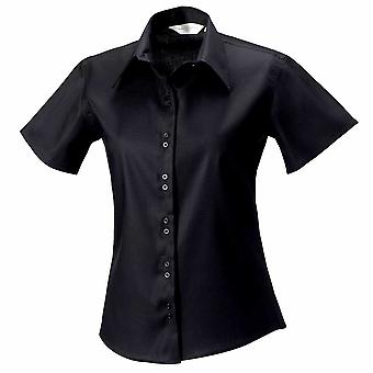 Russell Womens Short Sleeve Ultimate Non Iron Shirt