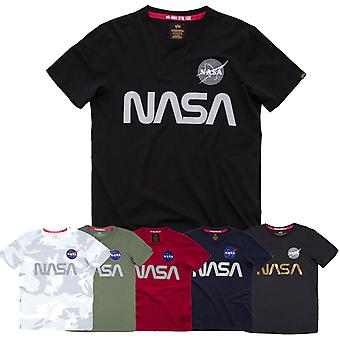Alpha industries shirt NASA reflective T