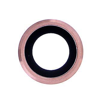 Rose Gold hinten Kamerahalter mit Objektiv für iPhone 6 Plus - 6 s Plus