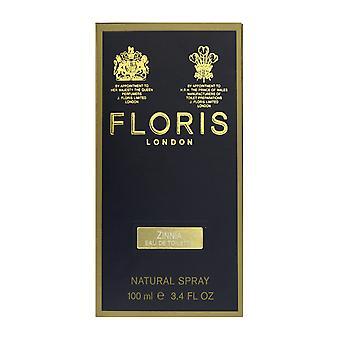 Floris Londen Zinnia Eau De Toilette Spray 3.4 Oz/100 ml In vak