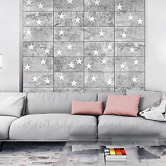 Fotobehang - Stars On Concrete