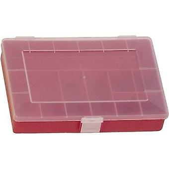 Caja de surtido de H-nersdorff (L x W x H) 250 x 180 x 45 mm No. de compartimentos: 8 compartimentos fijos 1 ud(s)