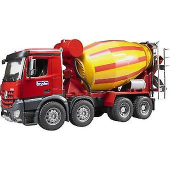 Bror Mercedes Benz Arocs betonblandeanlæg lastbiler