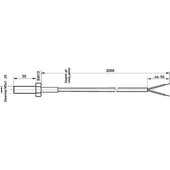 Enda Temperature sensor Sensor type J Temperature reading range-50 up to 400 °C Cable length 2 m Sensor diameter 7.97 mm