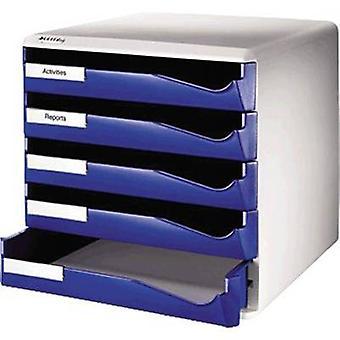 Leitz escritorio cajón caja 5280-00-35 azul A4 no. de compartimientos: 5