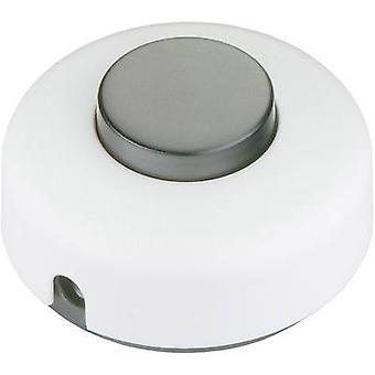 interBär 5062 501.01 フット スイッチ ホワイト ブラック オフ/2 1 1 x pc(s)