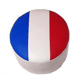 Sete pute sete krakk møbler avføring rundt faux skinn 34 x 50 x 50 Frankrike