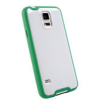 WirelessOne Helix Case for Samsung Galaxy S5 (White/Green)