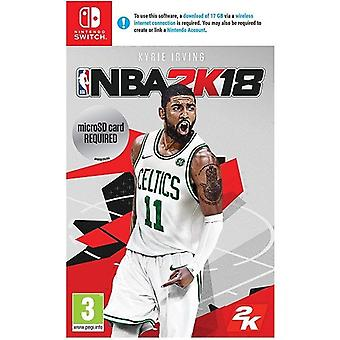 NBA 2K 18 Nintendo Switch spel