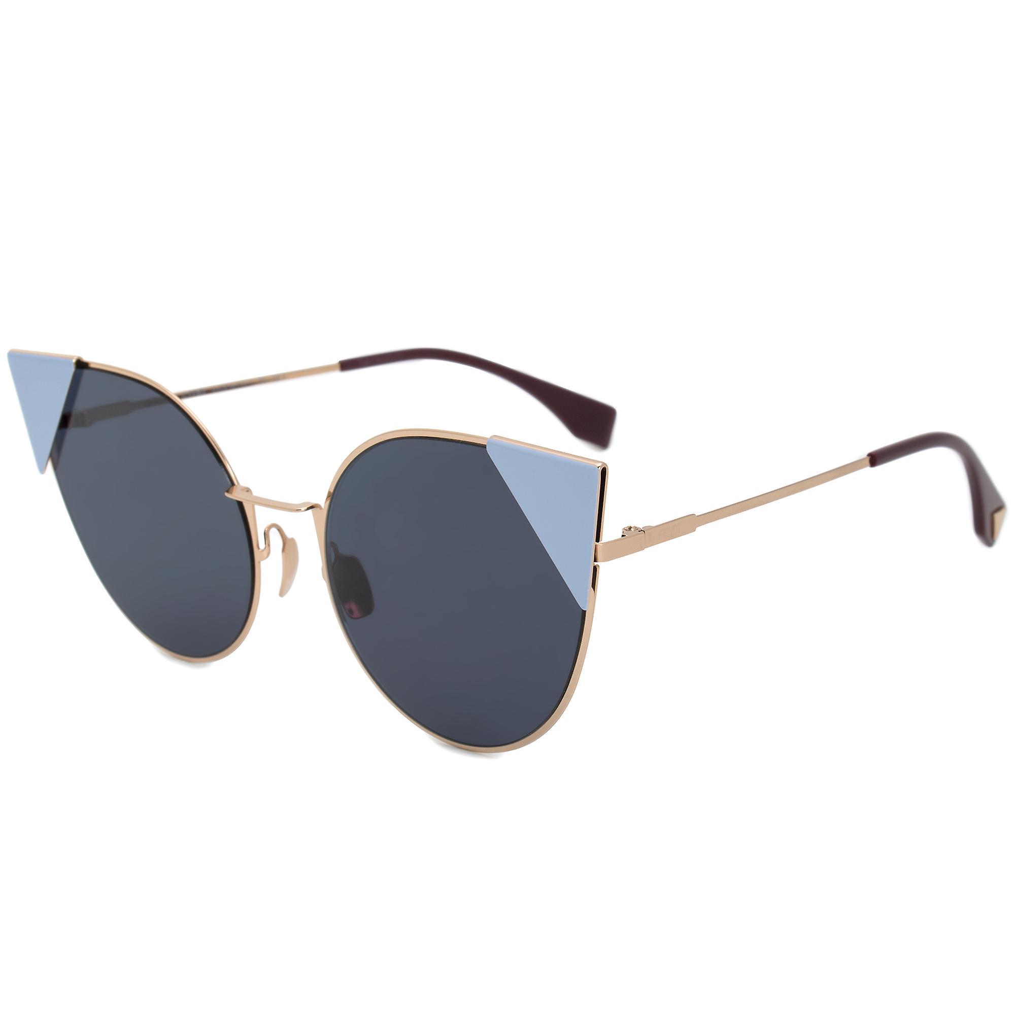 Fendi Lei Round Sunglasses FF0190S 000 A9 57