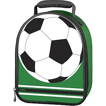 Thermos Football Upright Food Packing Travel Insulated Kids Lunch Pack Kit