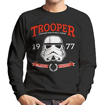 Original Stormtrooper Blaster School Men's Sweatshirt