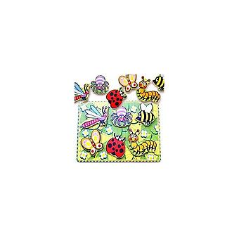 Simply for Kids 56437 Houten Insecten Puzzel