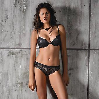 AMBRA lingerie soutiens-gorge chrysalide huile Push BH noir