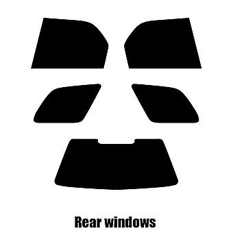 Pre cut window tint - Fiat Palio Estate - 1997 to 2004 - Rear windows