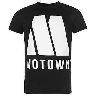 Official Mens Motown T Shirt Summer Cotton Print Short Sleeve Crew Neck Tee