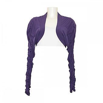 Joseph Ribkoff Women's Ruffle Long Sleeve Bolero