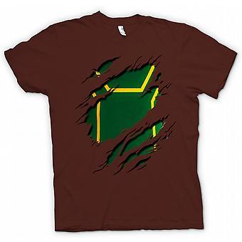 Mens T-shirt - Kick Ass Ripped Design Costume - Funny Superhero