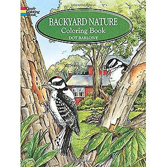 Hinterhof-Natur-Malbuch