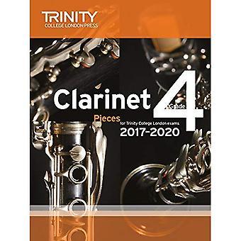 Klarinett-examen bitar årskurs 4 2017 2020 (poäng & del)
