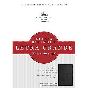 Biblia Bilingue Letra Grande-PR-Rvr 1960/KJV