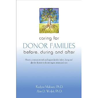 Caring for Donor Families: Before, During and After