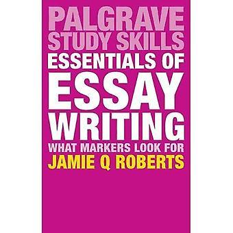 Lo esencial de la escritura del ensayo