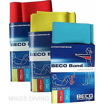 BECO Aqua Fitness Exercise Band - 3 Strengths