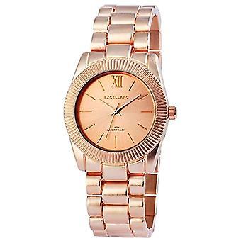 Excellanc relógio analógico de quartzo, materiais diferentes 150835500032