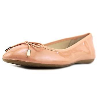 Alfani Womens Aleaa Leather Round Toe Ballet Flats